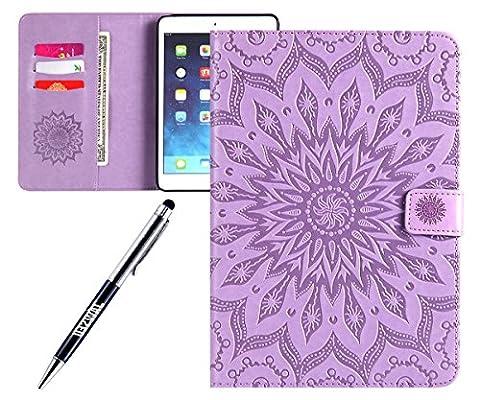 JAWSEU Coque pour Apple iPad Mini 1/2/3,Apple iPad Mini 2
