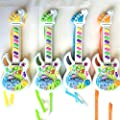 Forfar Electric Guitar, Music Electric Guitar Kids Children Baby Musical Instruments Educational Toy