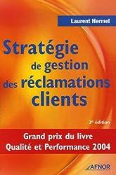 Stratégie de gestion des réclamations clients