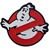 Embird Ghostbuster Movie Iron On / Sew On Embroidered Patch