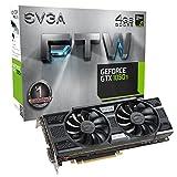 EVGA GeForce GTX 1050 Ti FTW ACX 3.0, 4 GB GDDR5, DX12 OSD (PXOC)...