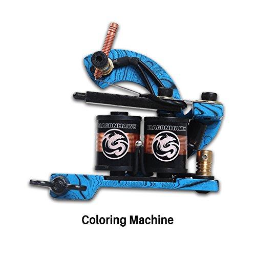 Professional tattoo machine gun coloring machine for for Tattoo machine price