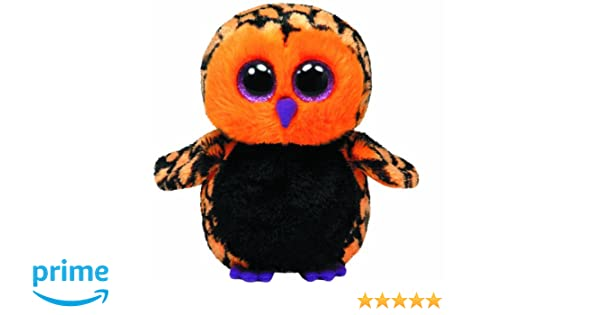 213e243f712 Ty 7136089 Beanie Toy Halloween Haunt - Glub Sliding Owl 15 cm ...