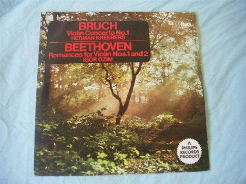 WL 1137 HERMAN KREBBERS/IGOR OZIM Bruch/Beethoven Violin LP