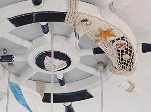 Kinderzimmer Kronleuchter Mittelmeer Rudder Seagull Schlafzimmer Kronleuchter Jungen und Mädchen Kreative LED-Augen Temperatur Einfache Xin Licht - 8