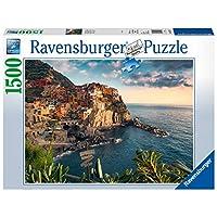 Ravensburger-Puzzle-1500-pices-Vue-sur-Les-Cinque-Terre-Adulte-Multicolore