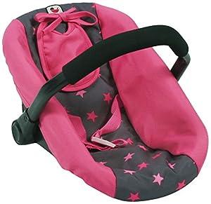 Bayer Chic 200070882portabebés, Estrellas de Auto Asiento, muñecas Rosa