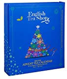 English Tea Shop Organic Book Style Advent Calendar Tea Bags, 25-Count