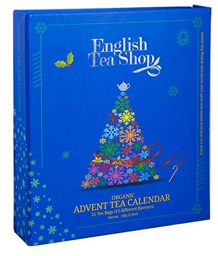"English Tea Shop - Tee Adventskalender (""Teebuch Blau"" 25 Boxen)"