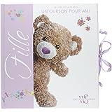 FILLE - Le livre de mon bébé - Un ourson pour ami