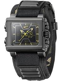 Camel Active A881.A9078NFPA - Reloj de caballero de cuarzo, correa de textil color negro (con cronómetro)