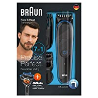 Braun 81644032 MGK3045 Erkek Bakım Kiti 7'si 1 Arada Sac Sakal Tıraş Bakım Seti - Gillette Flexball Tıraş Bıcağı Hediyeli