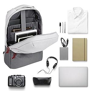SLYPNOS Anti-Theft Sac à Dos d'Affaires pour Ordinateur Portable avec Port de Chargement USB et Serrure