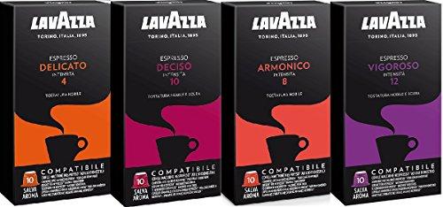 Degustación Cápsulas Lavazza Compatibles Nespresso 40 unidades