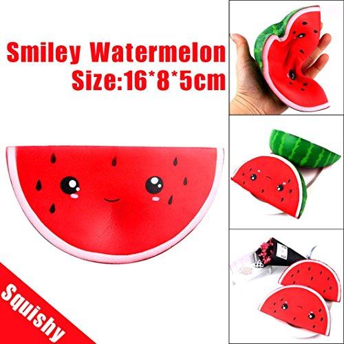 Wassermelone Creme Squeeze Spielzeug Langsam steigende Dekompression Spielzeug (rot) (Bulk-neuheit-spielzeug)