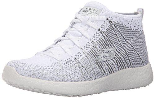 Skechers - Burst, Sneaker Donna bianca