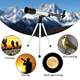 #4: Brand New Astronomical Land And Sky Refractor Telescope Optical Glass Metal Tube