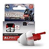 Alpine MotoSafe Race Motor oordoppen voor Racing - Voorkomt gehoorbeschadiging van windruis bij motorrijden - Verkeer nog steeds hoorbaar - Comfortabel hypoallergeen materiaal - herbruikbaar
