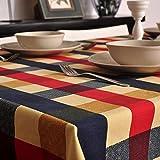 Moderne Minimalistische Tischdecke Baumwolle Leinen Runde Tischdecken Wohnzimmer Kaffee Tischdecke Rechteckige Tischdecken (Größe: 140X160Cm) XXPP