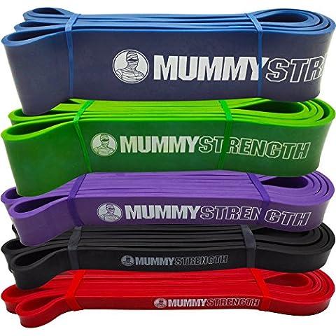 mummystrength Pull Up Assist & Bandas de movilidad