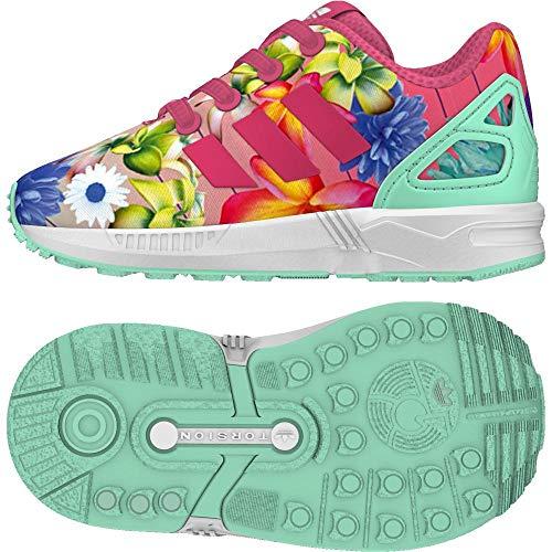 sale retailer cabee 9f517 adidas ZX Flux El I, Scarpe da Fitness Unisex-Bambini, Rosa Rosrea