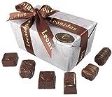 Belgische Leonidas Zartbitterschokolade: Luxuriösen Mischung Von 35 edle pralinen In Geschenkbox. (600g)