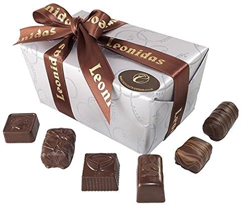 Belgische Leonidas Zartbitterschokolade: Luxuriösen Mischung Von 35 edle pralinen In Geschenkbox.