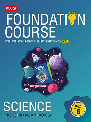 Science Foundation Course For JEE/NEET/NSO/Olympiad-Class 6