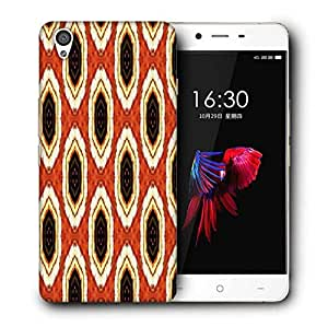 Snoogg Abstract Multicolor Pattern 1 Designer Protective Phone Back Case Cover For OnePlus X