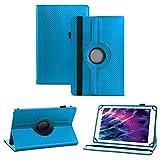NAUC Schutzhülle f Medion Lifetab S10321 MD 98687 Hülle Tasche Cover Tablet Case Bag, Farben:Blau