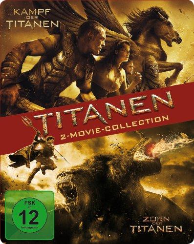 Kampf der Titanen / Zorn der Titanen (Steelbook) (Exklusiv bei Amazon.de) [Blu-ray]