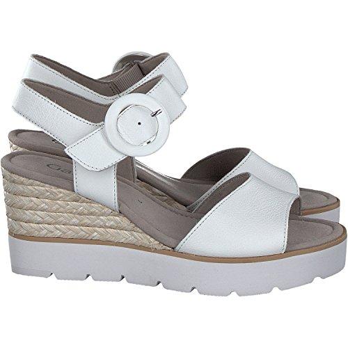 Gabor, Sandales Femme Blanc