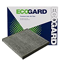 فلتر هواء كابينة ممتاز من إيكوجارد XC35518C مع مزيل رائحة الكربون النشط يناسب فورد رينجر 2019 | Lexus LS430 2001-2006، SC430 2002-2010، GS300، GS430 2001-2005