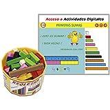 Regletas con Actividades Digitales. Bote con 52 pzs y acceso online