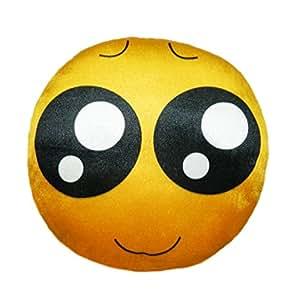Paramorasi Emoticon/Emoji Smiley Cushion (Export Quality)