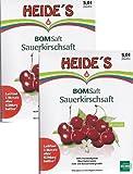 BOMSaft Sauerkirsche naturbelassen - Doppelpack -, 2 x 5 Liter
