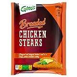 Gino's Chicken Steaks, 500g (Frozen)