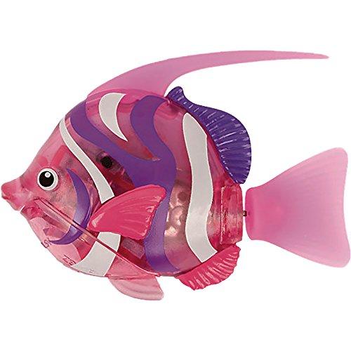 Robofisch 32675 - Deep Sea Wimplefish, elektronisches Haustier, pink/bunt