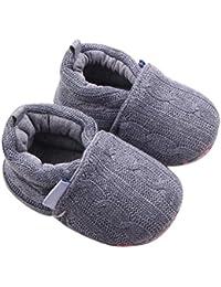 Zapatos de bebé,Tongshi Bebé Bowknot mantenga cálida nieve suave suela botas de cuna suave zapatos niño