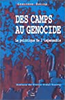 Des camps au génocide : la politique de l'impensable par Decrop
