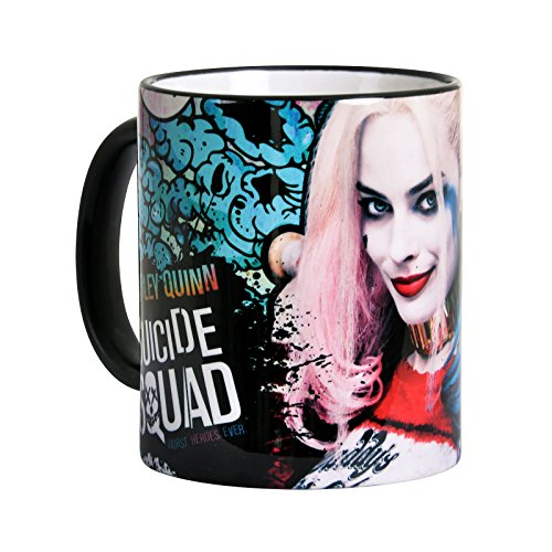 Suicide Squad Tasse Harley Quinn Motiv Lovely Girl Elbenwald Keramik