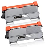 Gootior 2 Kompatible Toner TN2220 TN-2220 TN2010 Für Brother MFC-7460DN HL-2250DN HL-2270DW HL-2240D MFC-7360N DCP-7070DW HL-2240 DCP-7060D DCP-7065DN HL-2132 DCP-7055 fax-2940 Drucker Schwarz, 2600 Seiten