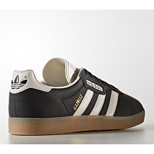 adidas Herren Gazelle Super Sneaker core black-vintage white-gum (BB5244)