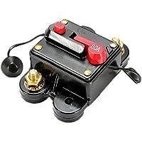 Cortacircuitos - SODIAL(R) fusible de reemplazo de linea de audio de estereo del automovil de cortacircuitos de 80A AMP de 12V-24V