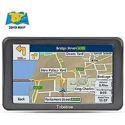 Tobetree MT988 - GPS Coches, 7 Pulgadas Navegador GPS para Coche con Bluetooth Gratis de Mapa de Europa Toda la Vida