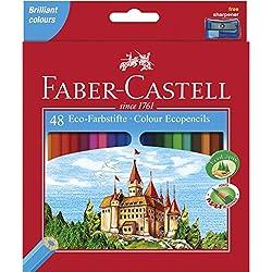 Faber-Castell Castle - Lápiz de color (Madera, Multi)