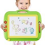 Perché scegliere il nostro tavolo da disegno Magnetica ? A) I bambini adorano disegnare e creare e BOBOH il tavolo da disegno magnetico lo rende facile e divertente senza problemi. B) Promuovi la coordinazione occhio-mano del tuo bambino e lo svilupp...