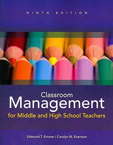 [Classroom Management for Middle and High School Teachers] (By: Edmund T. Emmer) [published: January, 2012]