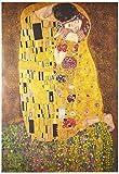 AMBROSIANA Il Bacio, di Gustav Klimt-Maxi Poster