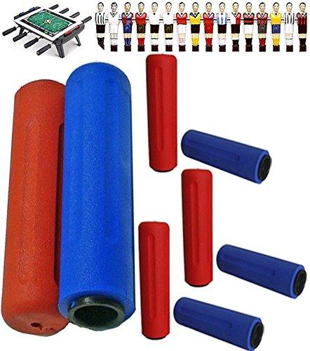 Calcio quattro coppie manopole, professionali, bicomponente, per calcio balilla Roberto Sport .